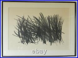 Hartung Hans lithographie signée numérotée 171/200 réalisée en 1963 101x76 cm