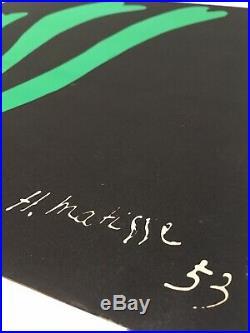 Henri MATISSE (1869 1954) Fougère 1953 Ancienne Lithographie
