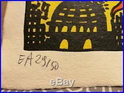 Herve DIROSA lithographie H Di ROSA signée numérotée EA combas ben cesar arman