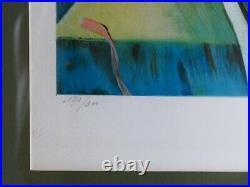 IMMENSE LITHOGRAPHIE signée Salvador DALI et numérotée 173/300