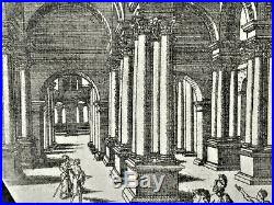 Jacques Androuet du CERCEAU Renaissance Ecole de Fontainebleau