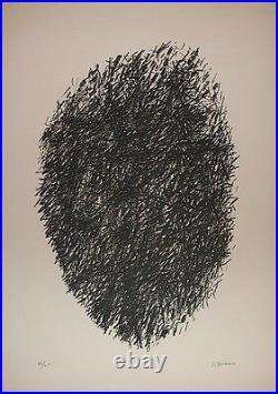 Jacques Germain Lithographie Art abstrait Bauhaus Academie Moderne P 398