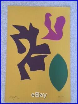 Jean (Hans) Arp lithographie signée numérotée