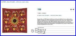 Jean Picart Ledoux Lithographie Rouge Et Or Tapisserie Aubusson 1960