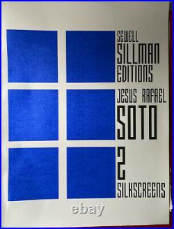 Jesus Rafael Soto Original Handsigned Silkscreen