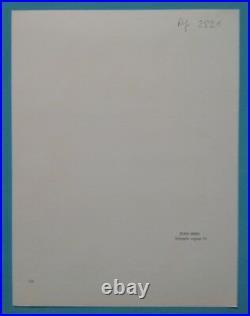Joan MIRO (1893-1983) Lithographie Originale VI 1972 Abstrait Mourlot (46ans)