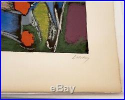 Lanskoy lithographie originale signée / numérotée