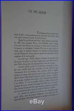 Les Chevaux De Dali / Le Picador / Lithographie Signee Dans La Planche
