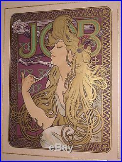 Les Maîtres de l'Affiche Alphonse Mucha Job 1900 Original lithograph n°202