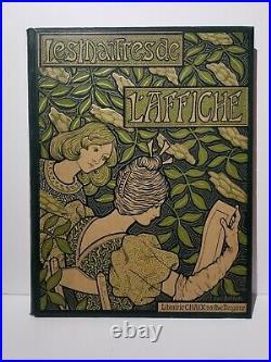 Les Maîtres de l'Affiche Volume 1 1896 Chaix belle couverture Paul Berthon