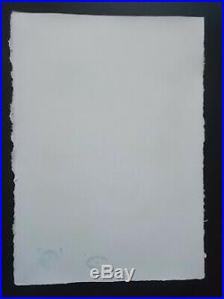 Lithographie, Andy Warhol, Marilyn Monroe , Tirage 25 Ex