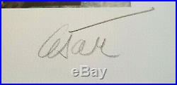 Lithographie CESAR Baldaccini signée num eiffel paris combas arman ben erro jr