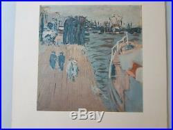 Lithographie Edouard Vuillard (1868 1940)