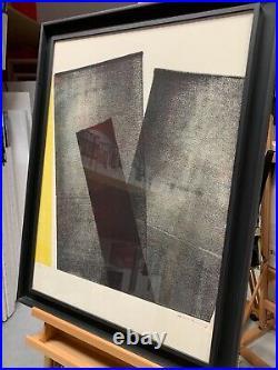 Lithographie Hans Hartung 1971 sur papier velin Guarro épreuve signée