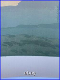 Lithographie Henri Riviere L Aube La Feerie Des Heures Eugene Verneau H2200