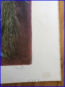 Lithographie ORIGINALE Signée Numérotée Cérès LEONOR FINI Certificat Circa 70