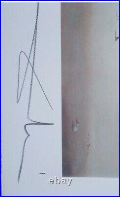 Lithographie, Salvador Dali La Tentation de St Antoine signée et numérotée
