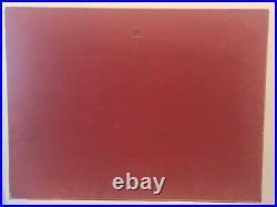 Lithographie Salvador Dali l'énigme sans fin signé et numéroté 111/300