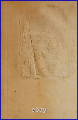 Lithographie originale signée numérotée au crayon