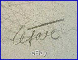 Lithographie signée CESAR BALDACCINI compression paris combas arman ben erro jr