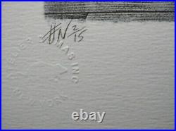 Lithographie signée Namio Harukawa