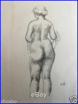 Maillol Aristide Lithographie Originale Signee Et Superbe Et Rarissime