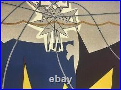 Man Ray Lithographie CM 50x65 Signature au Crayon Certifié Avec Authentique De