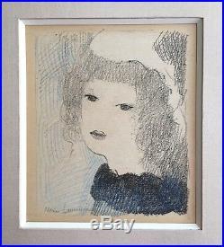 Marie Laurencin Lithographie rehaussée au crayon signée ballets nymphisme art
