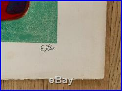 Maurice ESTÈVE, Amanda, 1961 / Hand signed and numbered Lithograph print