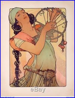 Mucha. A SALOME 1897 l'estampe moderne