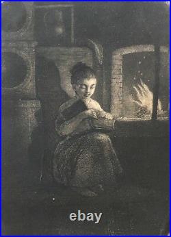 NORBLIN DE LA GOURDAINE 1745-1830 La liseuse c 1779 sur velin Polska