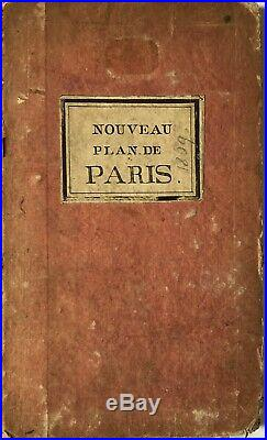 Nouveau Plan De Paris Divise En 12 Municipalites 1809