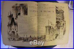 Numéro unique-Rouen-henry II publié à l'occasion de la fête historique 1880 état