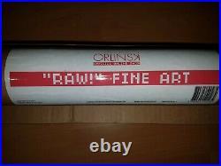 ORLINSKI RAW 500 original signée numérotée facture tube vendeur professionnel