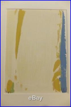 Olivier Debré, Composition, Lithographie originale signée XXè siècle