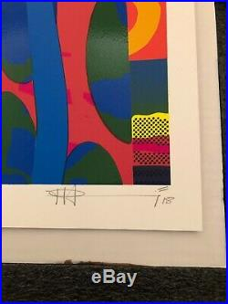 PAUL INSECT CRYSTAL HABITS BLUE SIGNED & NUMBERED 2018 Invader obey kaws condo