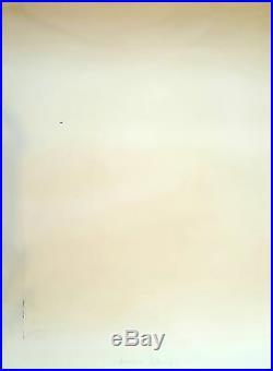 PAUL JENKINS. Amadeus listening, lithographie numérotée et signée au crayon