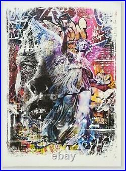 PICHIAVO VHILS Triumph (Obey, Banksy, c215, invader, whatson) OFFRE EN MP