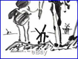 Pablo PICASSO Lithographie Don Quichotte 65x50cm