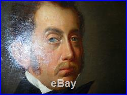 Paire de portraits homme signé CAVALLI et femm tres bon etat coté et repertorié