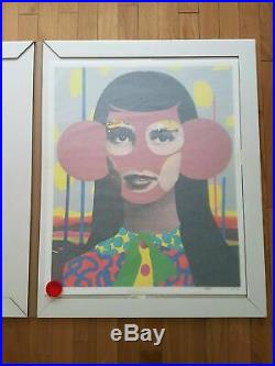 Paul Insect A Lasting Look (Gold Pink Edition of 75) Allouche Gallery Paris