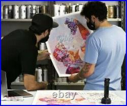 PichiAvo Young Bacchus Lefkos -Signed xx/200 Art print/ UV flashlight-