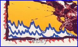 Pierre Alechinsky, Seoul (1988), lithographie signée et numerotée