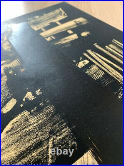 Pierre SOULAGES, Lithographie n°9 Original Lithograph print 1959