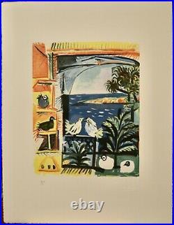 Portfolio PICASSO 48 Lithographies LES MENINES ET LA VIE
