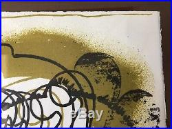 RARE Lithographie MONOTYPE ORIGINAL Signé crayon ARMAN Colère Violons (ARTPRICE)