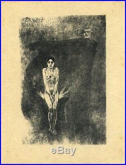 ROPS BARBEY D'AUREVILLY Le plus bel amour de Don Juan eau-forte sur Japon