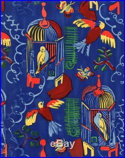 Raoul DUFY Lithographie MOURLOT 1965 Les oiseaux 30x24 cm
