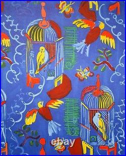 Raoul Dufy (d'après) Estampe Lithographie Les Oiseaux