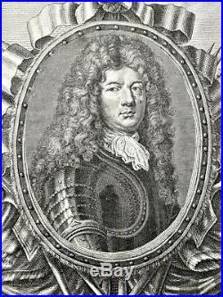 Rare portrait de Vauban dans un encadrement de Jean FROSNE